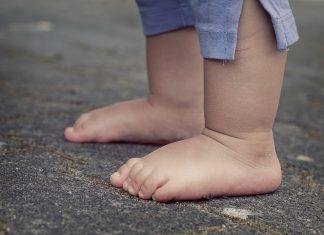Füße Kinderfüße Baby Barfuß Mensch Kind Zehen
