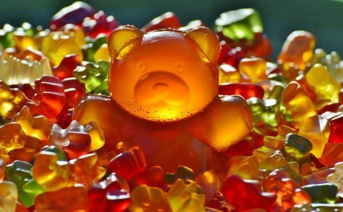 Riesengummibär Gummibär Gummibärchen Fruchtgummis