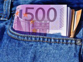 Geld Geldschein Banknote Zahlungsmittel Bündel