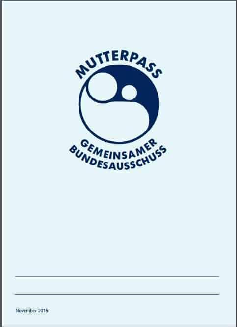Mutterpass - eine kleine Lesehilfe 1