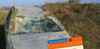 Organspende Unfall Unfallauto Totalschaden Notruf