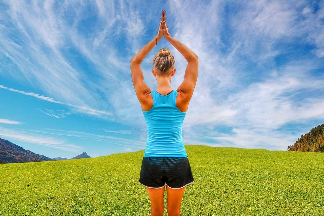 Yoga Übung Gesundheit Balance Natürlich Gesund