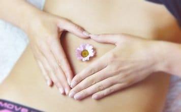 Bauch Herz Darm Hände Liebe Blüte Entspannung