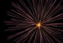 Feuerwerk Pyrotechnik Licht Explosion Nacht Hell