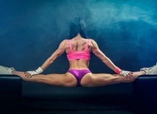 Schlingen Fitness Mädchen Body-Building Ausbildung