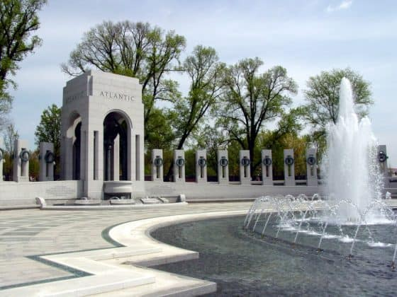 World War II Memorial (Atlantic) courtesy of washington.org
