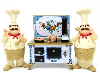Köche Herd Pfanne Topf Essen Küche Lebensmittel