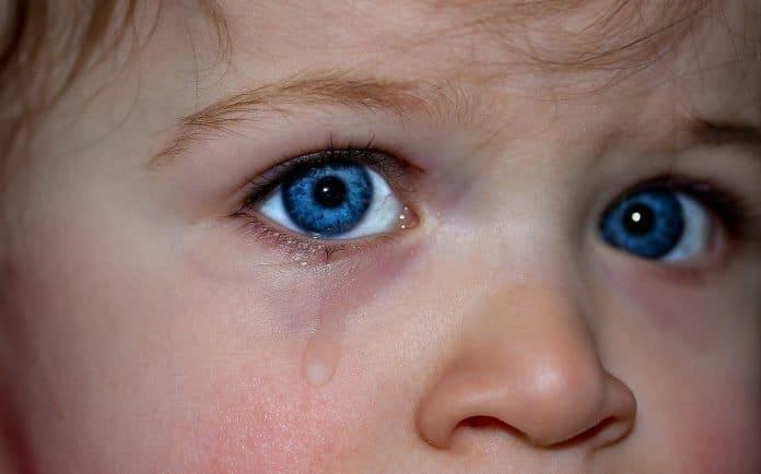 Kinderaugen Augen Blaue Augen Emotion Gefühle