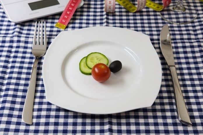 Diät Abnehmen Ernährung Tomate Gurke Salatgurke