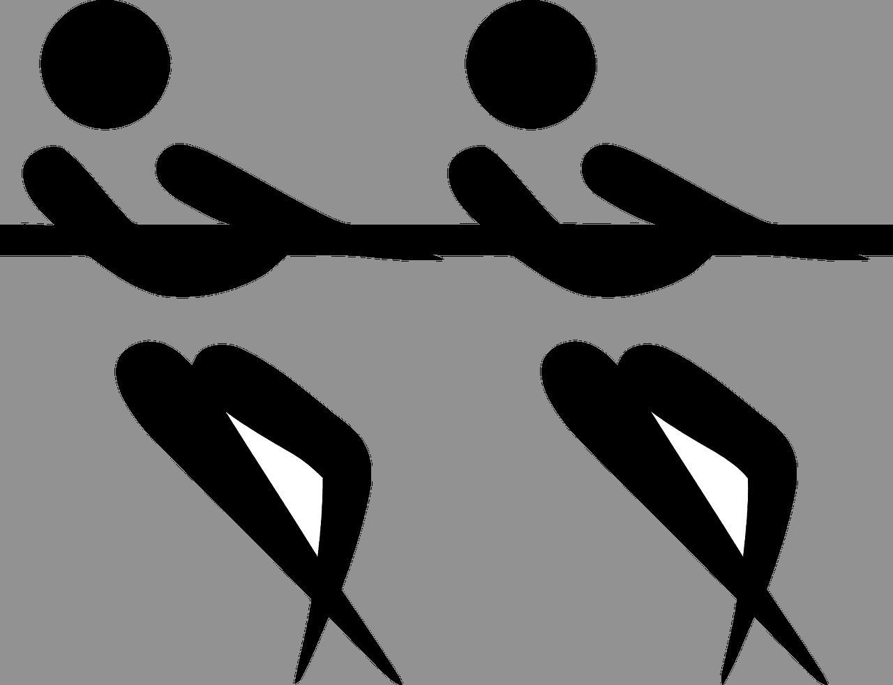 Schlepper Krieg Sport Piktogramm Begriffe