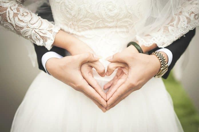 Herz Hochzeit Ehe Liebe Hände Romantisch Heiraten