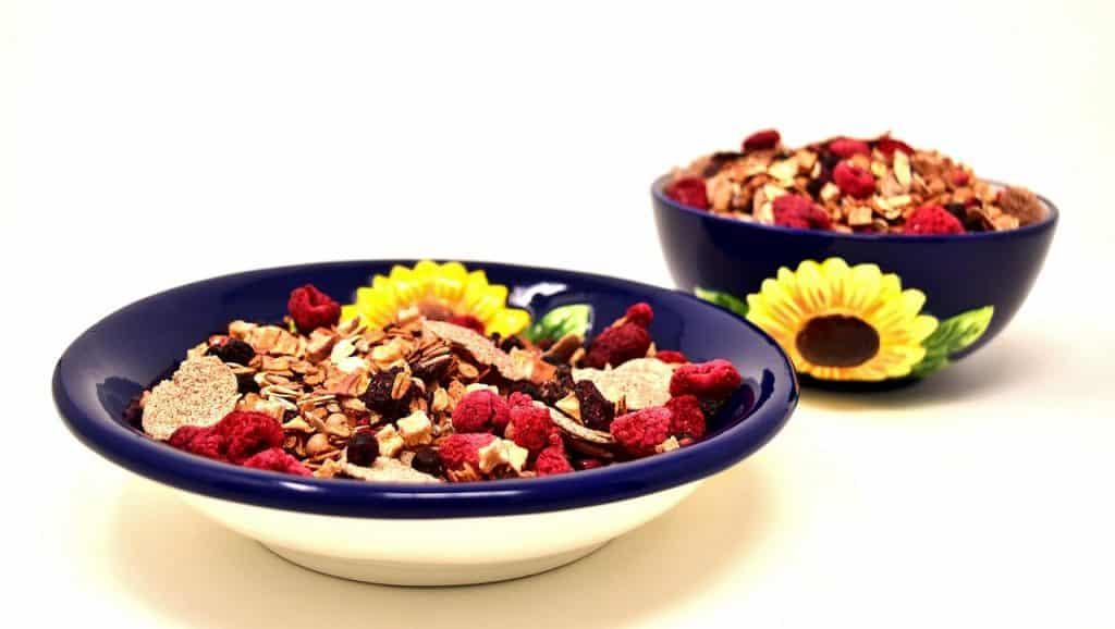 Ernährung in der Schwangerschaft: Müsli Schüssel Gesund Lebensmittel Essen Nahrung