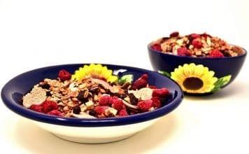 Müsli Schüssel Gesund Lebensmittel Essen Nahrung