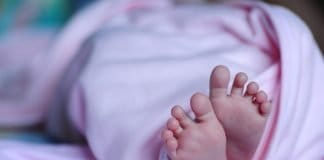 Baby Fuß Decke Neugeborene Kinder Haut Klein