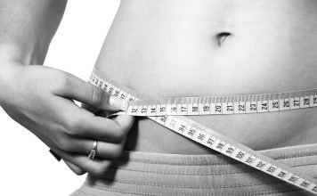 Bauch Körper Kalorien Diät Übung Fett Weiblich
