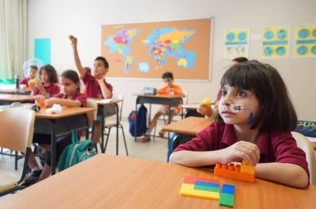 Mathematik und Kunst sind Georges Lieblingsfächer. Foto: KHB/Meinrad Schade