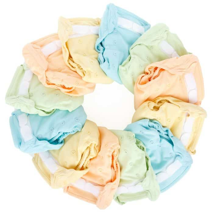 Baby Tuch Kleidung Farbe Bunte Komfort Windel