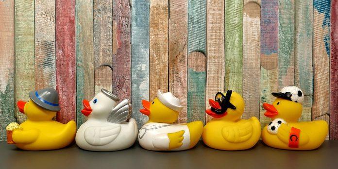 Gummienten Badeenten Badespaß Spielzeug