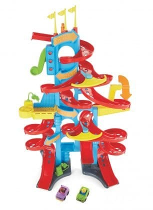 Fisher-Price Little People Hochhaus-Rennbahn Bild Mattel