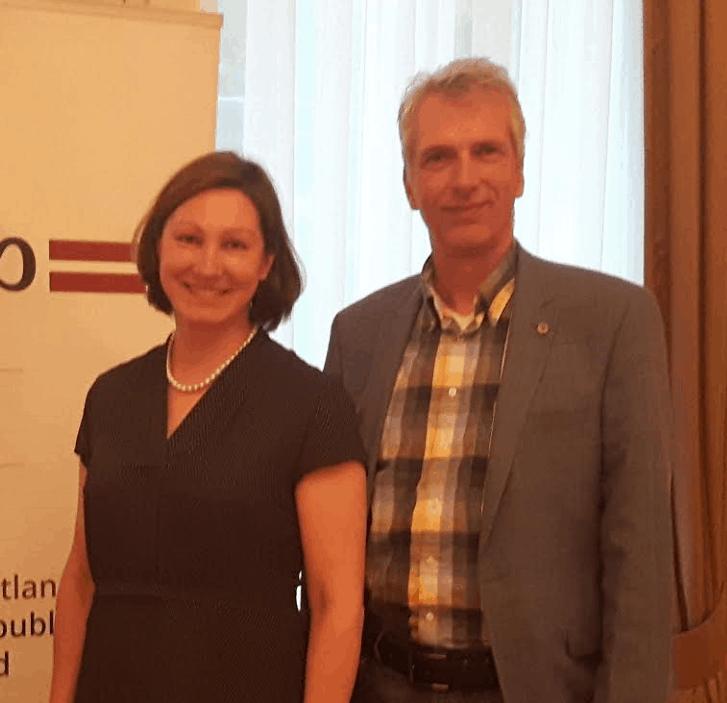 Inga Skuina Botschafterin Lettland