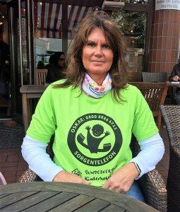 Bildtext 181205 Ehrenamt Kerstin Tschackert ist eine der vielen unersetzlichen ehrenamtlichen Helferinnen, die sich in Deutschland für die Kinderhospizarbeit stark machen.