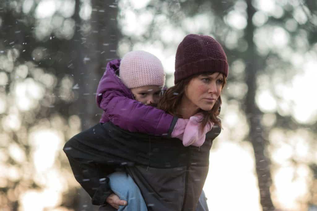 """Bild-ID: D_02977 """"DESTROYER: Erin Bell (Nicole Kidman) mit ihrer kleinen Tochter Shelby (Kenley Smyth)"""" © 2018 Concorde Filmverleih GmbH"""