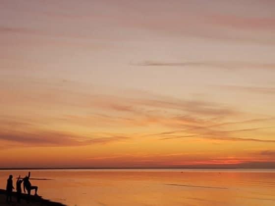 Strand in Riga Lettland