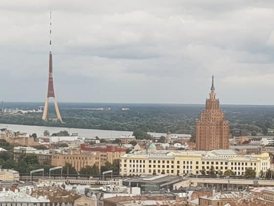 Wahrzeichen in Riga Lettland