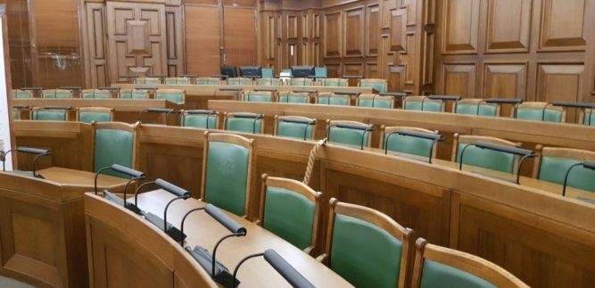 Parlament in Riga Lettland