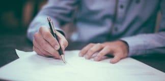 Schreiben Stift Mann Tinte Papier Bleistifte