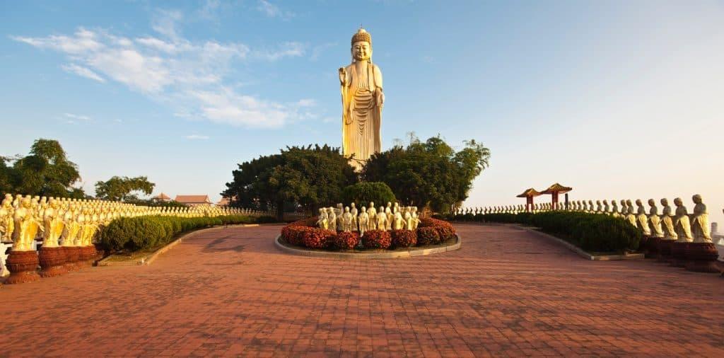 Foguagshan Kloster bei Kaohsiung Taipeh Tourismusbüro – www.taiwantourismus.de