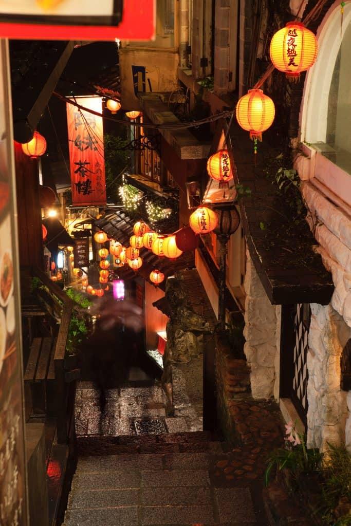 Gassen in Jioufen Taipeh Tourismusbüro – www.taiwantourismus.de