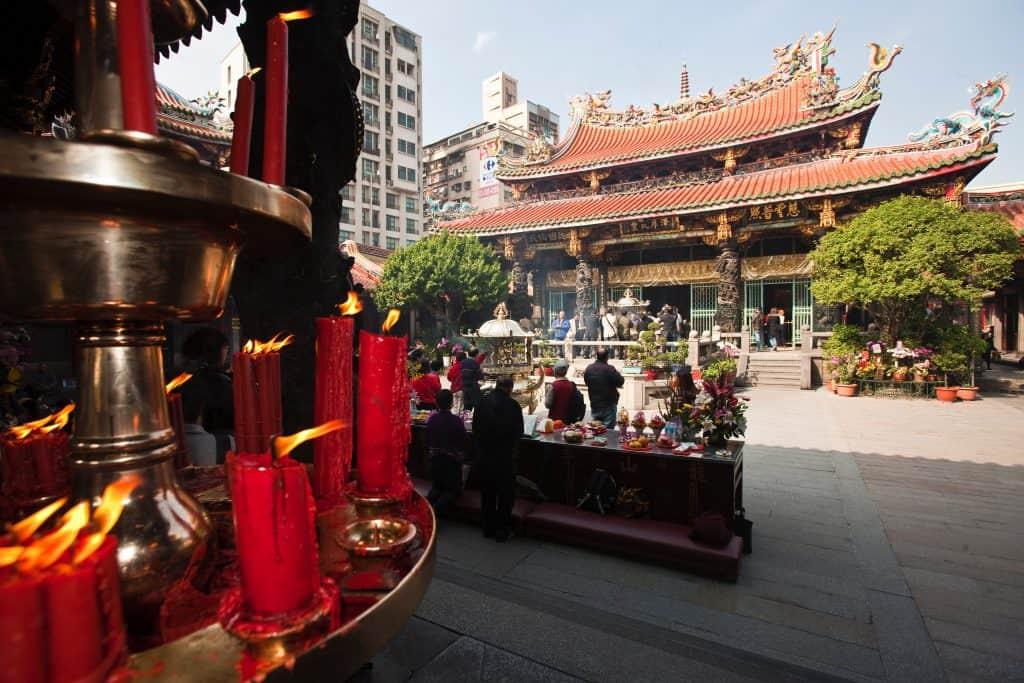 Longshan Tempel in Taipei Taipeh Tourismusbüro – www.taiwantourismus.de
