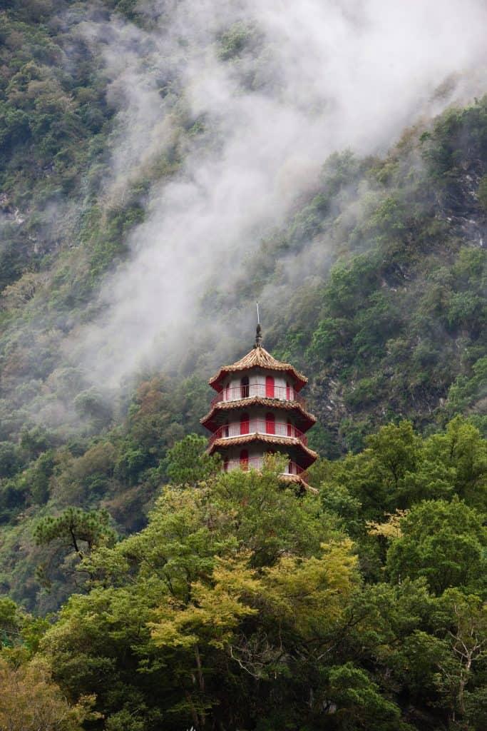 Pagode im Taroko Nationalpark Taipeh Tourismusbüro – www.taiwantourismus.de