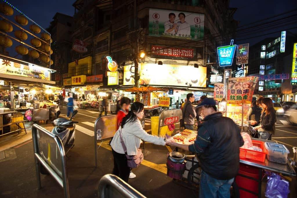 Shilin Nachtmarkt in Taipeh Taipeh Tourismusbüro – www.taiwantourismus.de