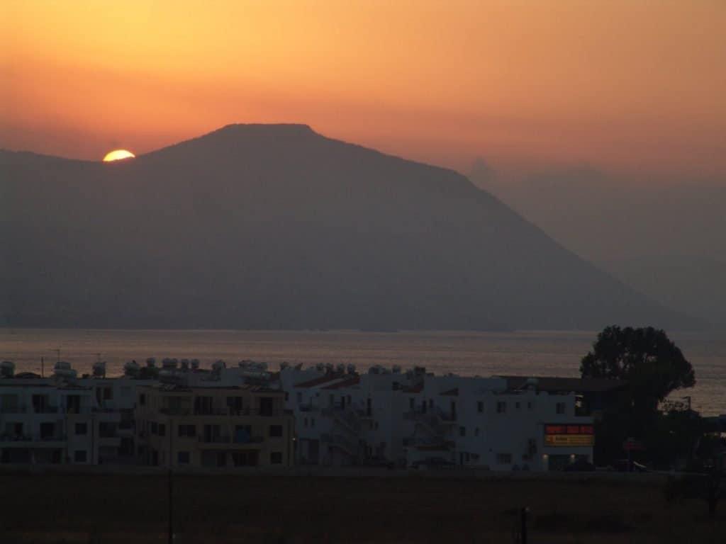 Sonnenuntergang auf Zypern