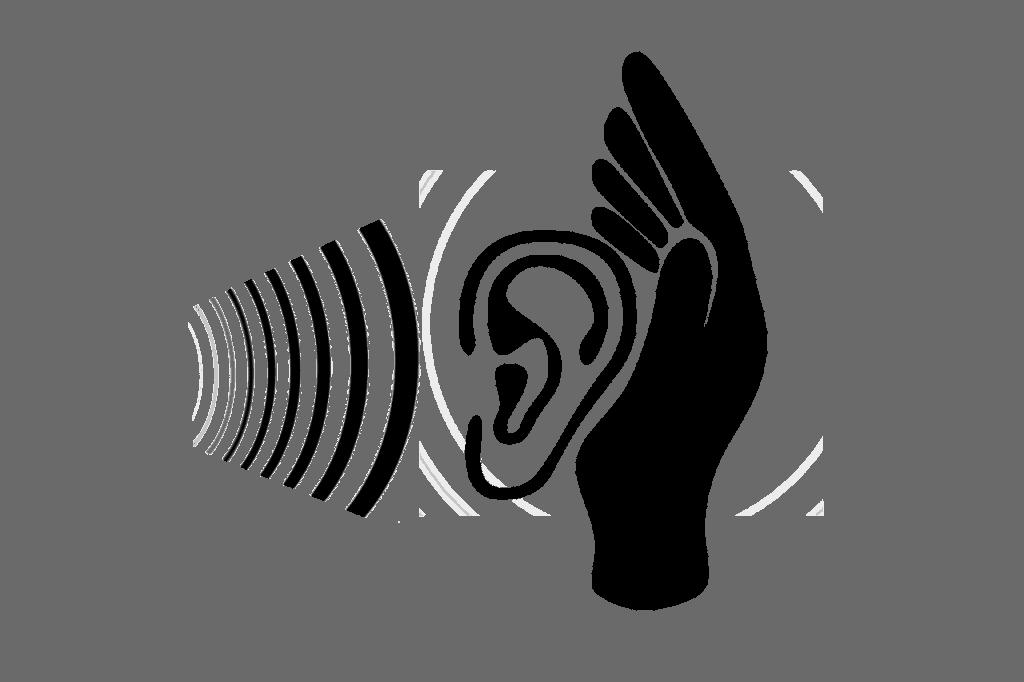 Ohr Ohrmuschel Hören Zuhören Zuhörer Therapeut
