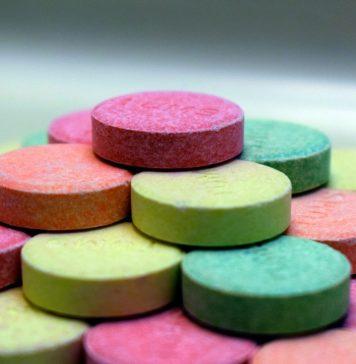 Tums Pillen Tabletten Säurebindendes Mittel
