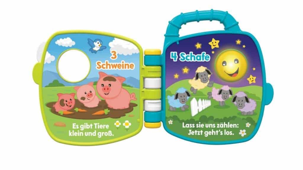 Fisher-Price Tierfreunde Liederbuch (ab 6 Monate) Bild: Mattel