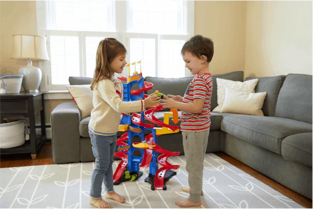 Hochhausrennbahn Bildquelle Fisher-Price Mattel