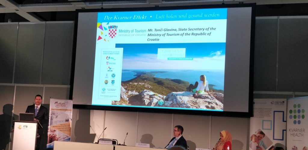 Kroatien - Mr. Tonchi Glavina, State Secretary of the Ministry of Tourism of the Republic of Croatia (Staatssekretär im Tourismus-Ministerium der Republik Kroatien)