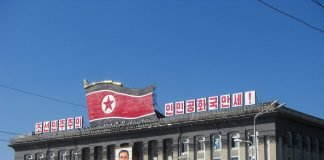 nordkorea pjöngjang gebäude kim il sung-platz