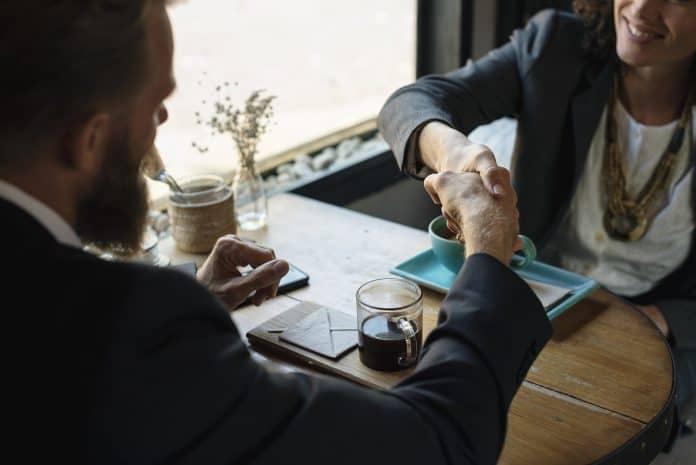 Vereinbarung Getränke Brainstorming Pause Geschäft