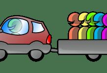 Fahrgemeinschaften Fahren Auto Männer Spaß