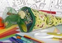 Schultüte Zuckertüte Schulanfang Einschulung Schule