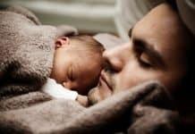 Baby Kinder Niedlich Vater Papa Familie Sohn