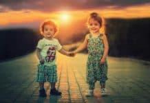 Kinder Geschwister Bruder Schwester Liebe Menschen