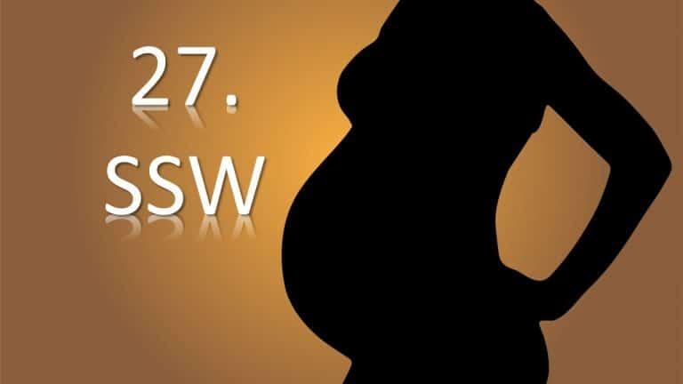 27. SSW (Schwangerschaftswoche)
