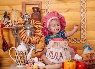 Menschen Familie Küchenjunge BabyMenschen Familie Küchenjunge Baby
