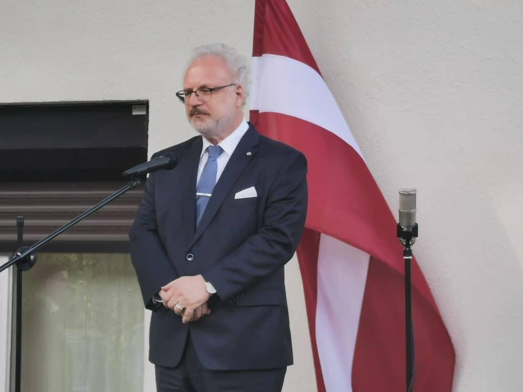 Egils Levits Staatspräsident Lettland